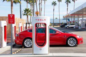 Tesla Charge Station